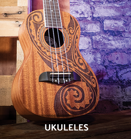 body of Oscar Schmidt ukulele