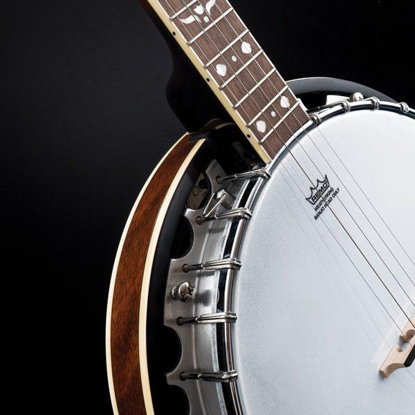 closeup of Oscar Schmidt banjo