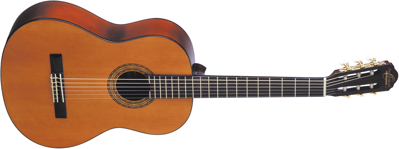 light wood Oscar Schmidt classical guitar