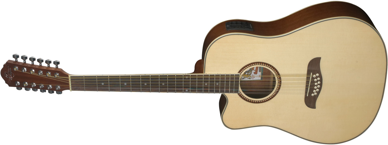 Oscar Schmidt 12-string acoustic guitar