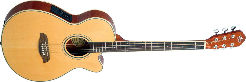 Oscar Schmidt light acoustic/electric guitar