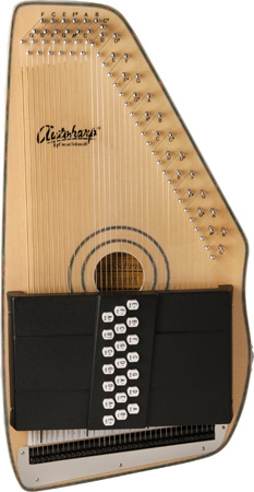 light brown Oscar Schmidt Autoharp