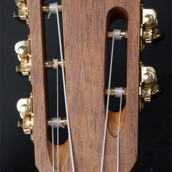 headstock of Oscar Schmidt classical guitar