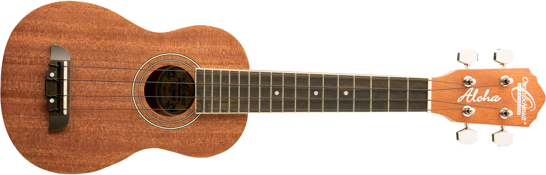 Oscar Schmidt brown ukulele