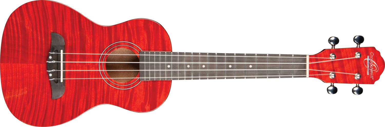 red striped Oscar Schmidt ukulele