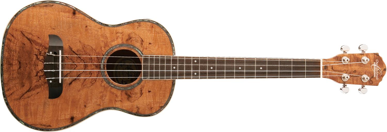 Oscar Schmidt dark wood ukulele
