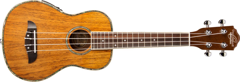 bright tan OU5E ukulele