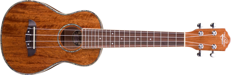 Oscar Schmidt wood ukulele