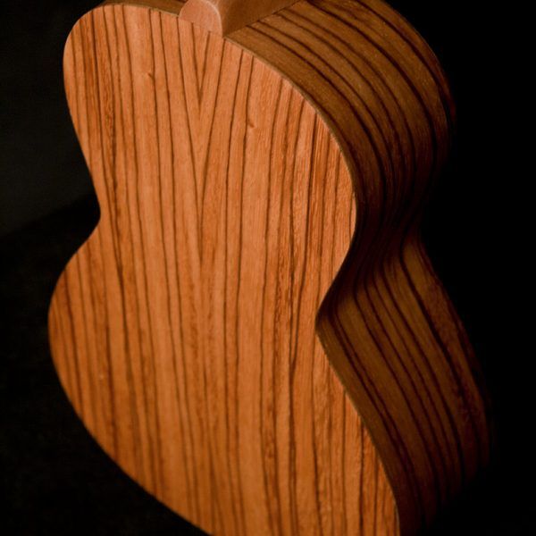 back of Oscar Schmidt ukulele